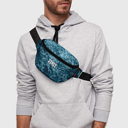 Поясная сумка Грот: Синий мрамор цвета 3D — фото 2