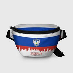 Поясная сумка Sakhalin: Russia цвета 3D-принт — фото 1