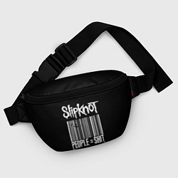 Поясная сумка Slipknot: People Shit цвета 3D-принт — фото 2