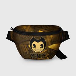 Поясная сумка Black Bendy цвета 3D — фото 1