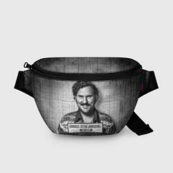 Поясная сумка Пабло Эскобар цвета 3D-принт — фото 1