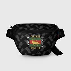Поясная сумка GUSSI Style цвета 3D-принт — фото 1