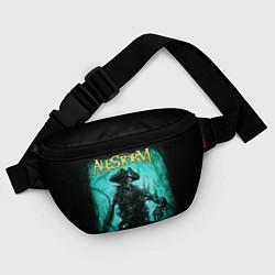 Поясная сумка Alestorm: Death Pirate цвета 3D-принт — фото 2