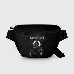 Поясная сумка Mastodon: Death Came цвета 3D-принт — фото 1