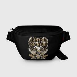 Поясная сумка Lynyrd Skynyrd цвета 3D-принт — фото 1