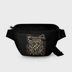 Поясная сумка Machine Head цвета 3D-принт — фото 1