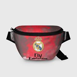 Поясная сумка Реал Мадрид цвета 3D-принт — фото 1