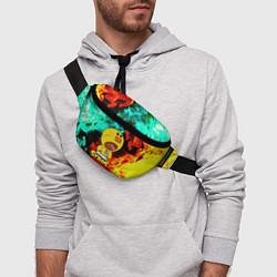 Поясная сумка Brawl Stars SALLY LEON цвета 3D — фото 2