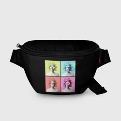 Поясная сумка Медуза Горгона Pop Art цвета 3D — фото 1