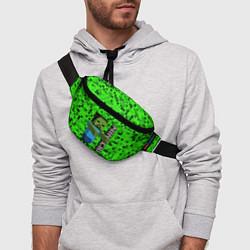 Поясная сумка MINECRAFT цвета 3D-принт — фото 2