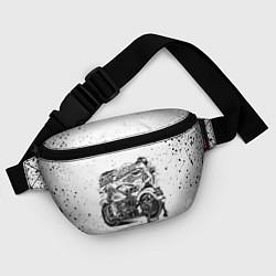 Поясная сумка HARLEY DAVIDSON цвета 3D-принт — фото 2