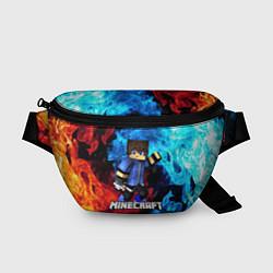 Поясная сумка Minecraft Майнкрафт цвета 3D-принт — фото 1