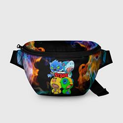 Поясная сумка Brawl Stars Leon Quattro цвета 3D-принт — фото 1