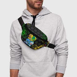 Поясная сумка Brawl Stars Leon Quattro цвета 3D — фото 2