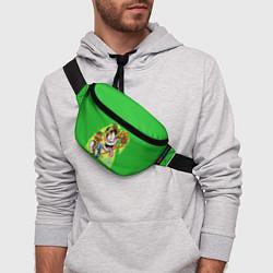 Поясная сумка CRASH BANDICOOT цвета 3D — фото 2