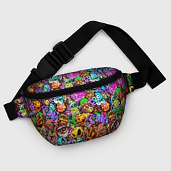 Поясная сумка STANDOFF 2 STICKERS цвета 3D — фото 2