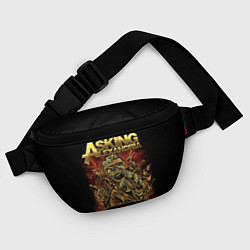 Поясная сумка Asking Alexandria цвета 3D — фото 2