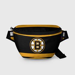 Поясная сумка Boston Bruins цвета 3D-принт — фото 1