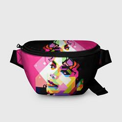 Поясная сумка Michael Jackson Art цвета 3D-принт — фото 1