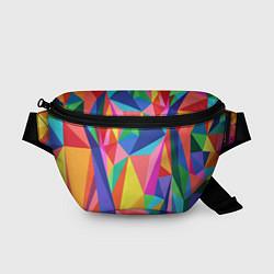 Поясная сумка Радуга цвета 3D — фото 1