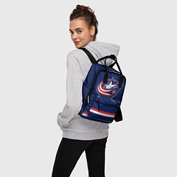 Рюкзак женский Columbus Blue Jackets цвета 3D-принт — фото 2