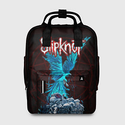 Рюкзак женский Орел группа Slipknot цвета 3D-принт — фото 1