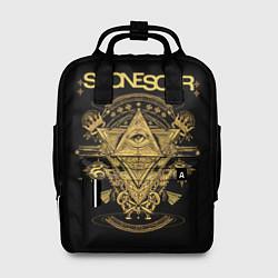 Рюкзак женский Stone Sour цвета 3D-принт — фото 1