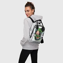 Женский городской рюкзак с принтом BILLIE EILISH, цвет: 3D, артикул: 10201691305839 — фото 2