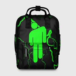 Женский городской рюкзак с принтом BILLIE EILISH, цвет: 3D, артикул: 10201693305839 — фото 1