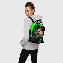 Рюкзак женский MINECRAFT цвета 3D — фото 2