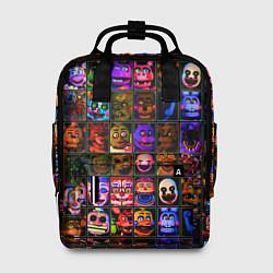 Женский городской рюкзак с принтом Five Nights At Freddy's, цвет: 3D, артикул: 10211300905839 — фото 1
