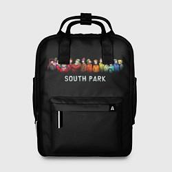 Рюкзак женский ЮЖНЫЙ ПАРК цвета 3D-принт — фото 1
