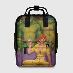 Рюкзак женский ЧЕРЕПАШКИХАБ цвета 3D — фото 1