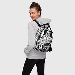 Рюкзак женский Rock цвета 3D-принт — фото 2