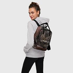 Рюкзак женский Мой внутренний зверь цвета 3D — фото 2