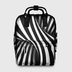 Женский рюкзак Оптические иллюзии