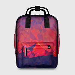 Рюкзак женский Абстракция цвета 3D — фото 1