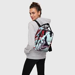 Рюкзак женский Разводы цвета 3D — фото 2