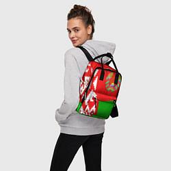 Рюкзак женский Патриот Беларуси цвета 3D-принт — фото 2
