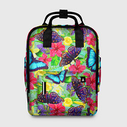 Рюкзак женский Summer Butterflies цвета 3D — фото 1