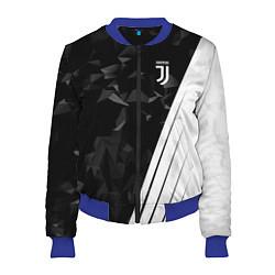 Женский бомбер FC Juventus: Abstract