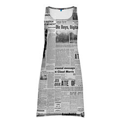 Туника женская Газета Newspaper цвета 3D — фото 1