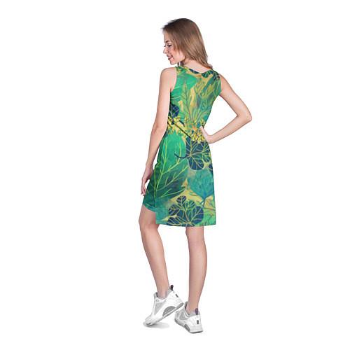Женская туника Узор из листьев / 3D – фото 4