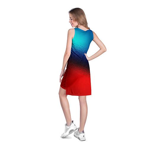 Женская туника Синий и красный / 3D – фото 4