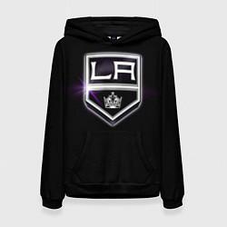 Толстовка-худи женская Los Angeles Kings цвета 3D-черный — фото 1