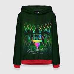 Толстовка-худи женская Tokio Hotel: Dream Machine цвета 3D-красный — фото 1
