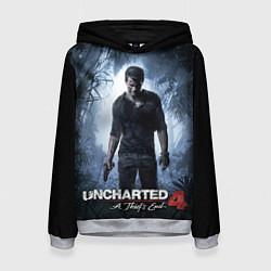 Толстовка-худи женская Uncharted 4: A Thief's End цвета 3D-меланж — фото 1