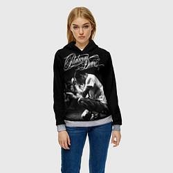 Толстовка-худи женская Parkway Drive цвета 3D-меланж — фото 2