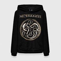 Толстовка-худи женская Meshuggah цвета 3D-черный — фото 1