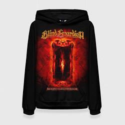 Толстовка-худи женская Blind Guardian цвета 3D-черный — фото 1